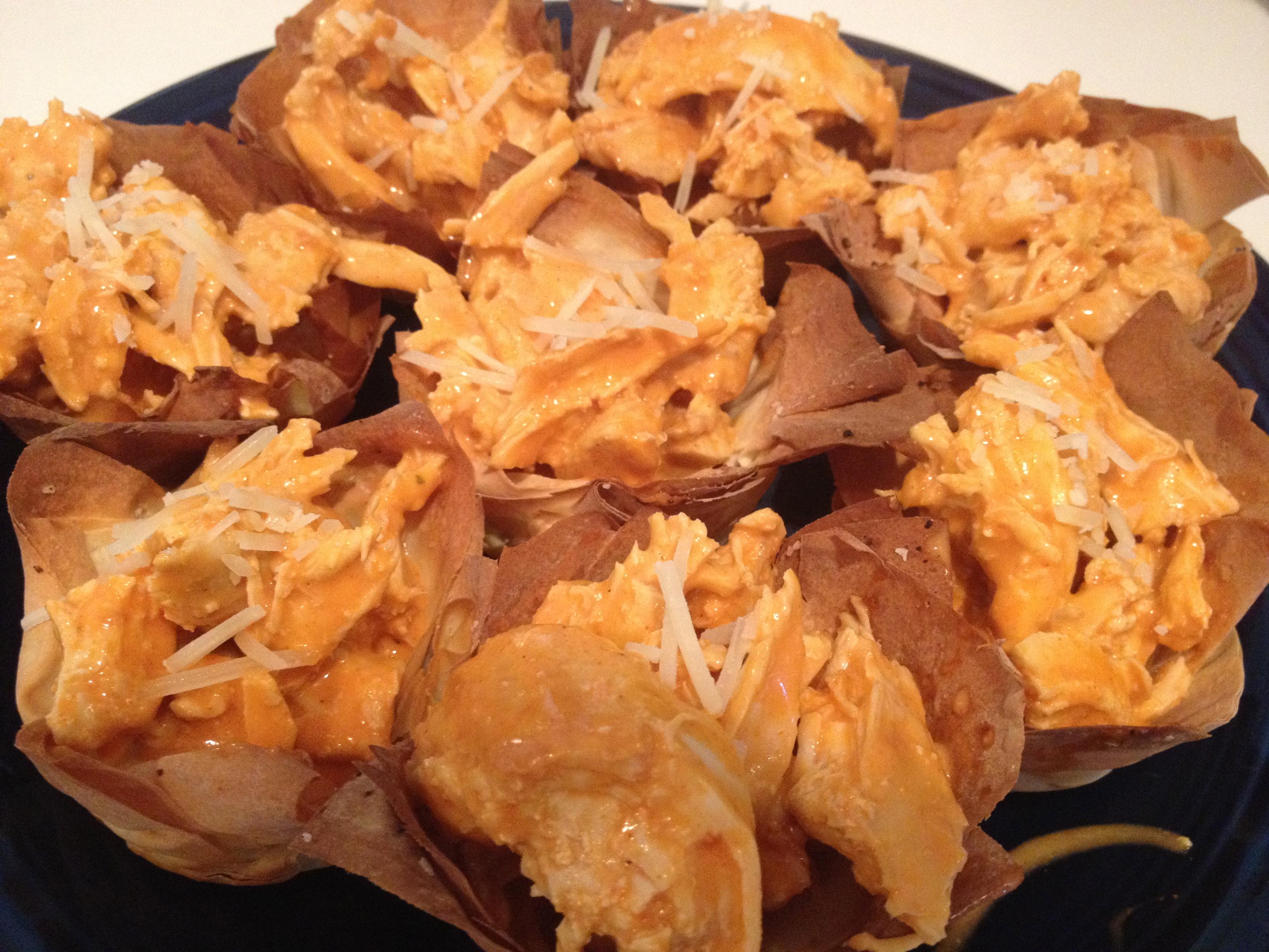 "Buffalo Chicken ""Cupcakes"" | Cavities & Cravings"